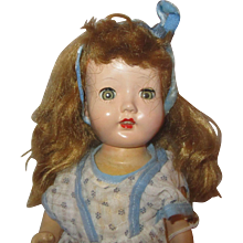 """12"""" Arranbee Doll Company All composition doll with 4 teeth on top Nancy - Red Tag Sale Item"""