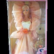 1984 Peaches N'Cream Barbie in original box and never removed Pretty