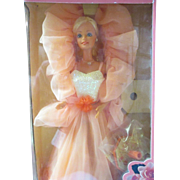 1984 PEaches N'Cream Barbie in original box and never removed Pretty