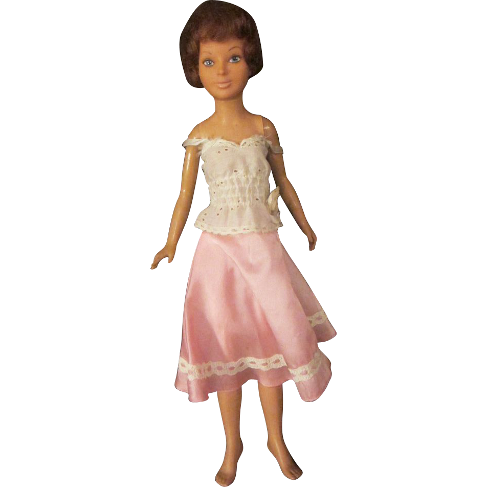 "1977 Magic Hair Crissy doll IDEAL 18"" original outfit too"