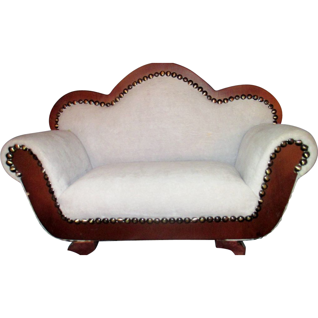Victorian Styled Sofa Fainting Couch Miniature Salesman Sample : Doll Hugs  Shop | Ruby Lane