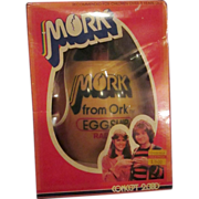 Mork from ORK robin Williams original egg ship radio never opened