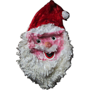 Creepy vintage Santa Claus  pajama bag head