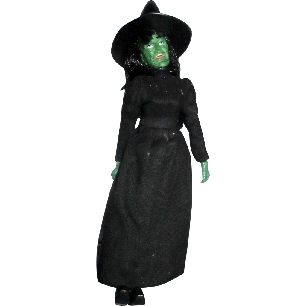 Mego Wicked Witch of the West Vintage doll ! 1970's