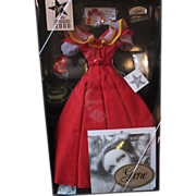 Classic Hollywood style 1950's Heart's Afire wardrobe MIB for Gene Marshall doll