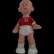 "Vintage 1960's 9"" Perfekta Carl Anderson's ""Henry"" Comic Strip Doll"