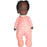 Vintage Mattel Dark Drowsy doll mute no string, needs hair done 1964