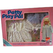 Outfit for Patty Playpal Doll MIP Sleep N' Slumber Nightgown IDEAL doll co with cassette 1987