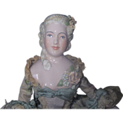 "Ada Bridgman Odenrider Artist Doll porcelain 12"""