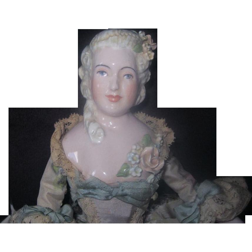 "Ada Bridgman Odenrider Artist Doll porcelain 12"" REDUCED AGAIN"