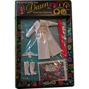 Wonderful World of Dawn fashion mint on package Long 'N Leather 1971 MOD