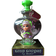 1964 Mattel Liddle Kiddle Kologne doll VIOLET miniature perfume RARE condition