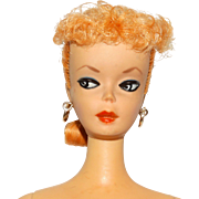 Vintage Barbie Blonde #1 Ponytail Doll