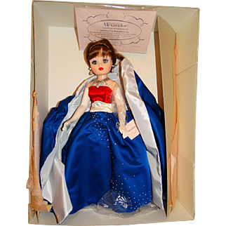 "2001 Madame Alexander 21"" America The Beautiful Cissy Doll #124 of 210"