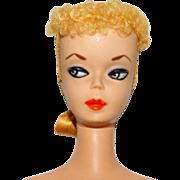 Vintage Blonde #2 Ponytail Barbie Doll