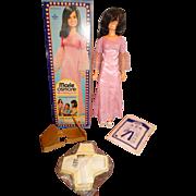 "Vintage MIB Mattel 30"" Marie Osmond Modeling Doll w/Patterns"