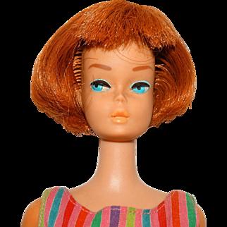 Vintage Redhead Bend Leg American Girl Barbie Doll