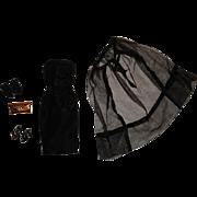 Vintage Barbie Complete Black Magic Outfit