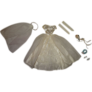 Vintage Barbie 99% Complete Bride's Dream Outfit