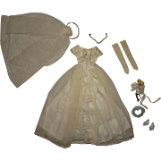 Vintage Barbie Complete Bride's Dream Outfit
