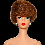 VHTF Vintage 1961 Brownette Bubblecut Barbie Doll