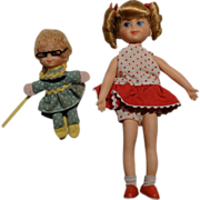 Vintage Complete 1967 Buffy and Mrs. Beasley Dolls