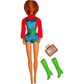 Vintage Talking Busy Barbie Doll