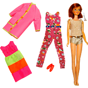 Vintage Complete Sears Casey Goes Casual Giftset w/Redhead Doll