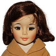 """Madame Alexander 1960s 20"""" VHTF Jacqueline Kennedy Cissy Doll w/Riding Outfit"""