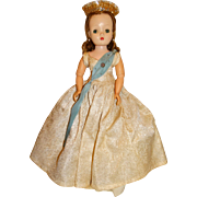 """Madame Alexander Vintage 1957 Blonde 20"""" Cissy Queen Doll"""