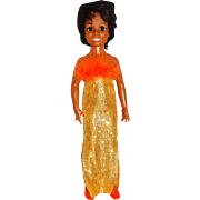 """Ideal Vintage 1969 18"""" Diana Ross Doll"""