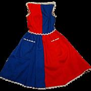 Vintage Barbie Fancy Free Dress