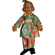 Ideal Vintage Composition 1938 Flexy Fannie Brice Baby Snooks Doll