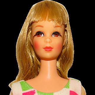 Vintage Blonde Bend Leg Francie Doll