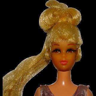 Vintage Barbie Blonde Growin' Pretty Hair Francie Doll