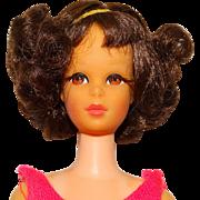 Vintage Brunette TNT Short Flip Francie Doll