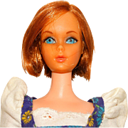 Vintage Redhead Sears TNT Hair Happenin's Barbie Doll