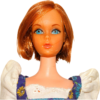 Vintage Redhead Sears TNT Hair Happenin's Barbie Doll