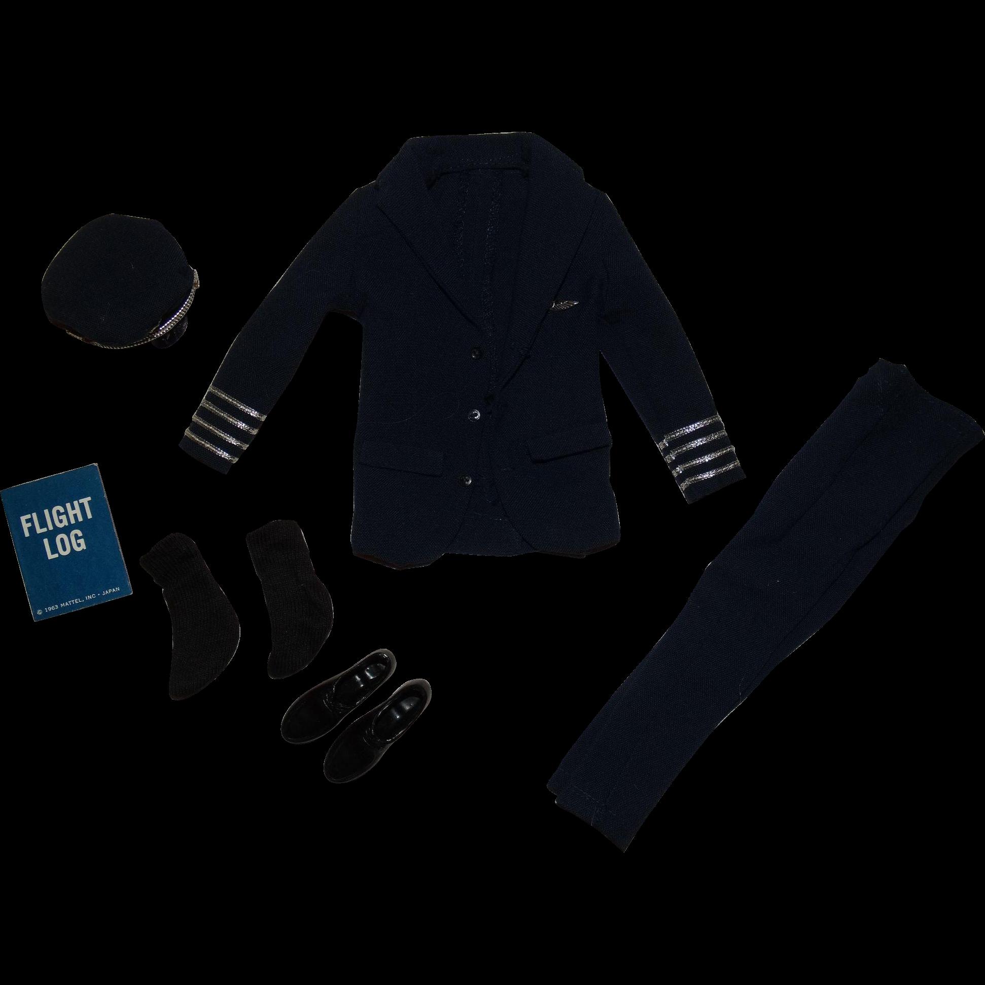 Vintage Ken 1964 American Airlines Pilot Outfit