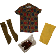 Vintage Ken Complete Sport Shorts Outfit