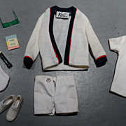 Barbie Vintage Ken Complete Tennis Outfit