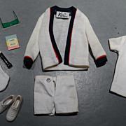 Barbie Vintage Ken Complete Tennis Outfit