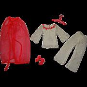 Vintage Barbie Complete Lace Caper Outfit