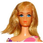 Vintage Blonde Dramatic Living Barbie Doll w/Centered Eyes