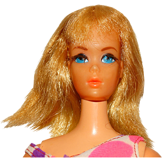 Vintage Blonde Dramatic Living Barbie Doll w/Centered Eyes