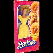Vintage NRFB 1981 Super Star Era Magic Curl Barbie Doll