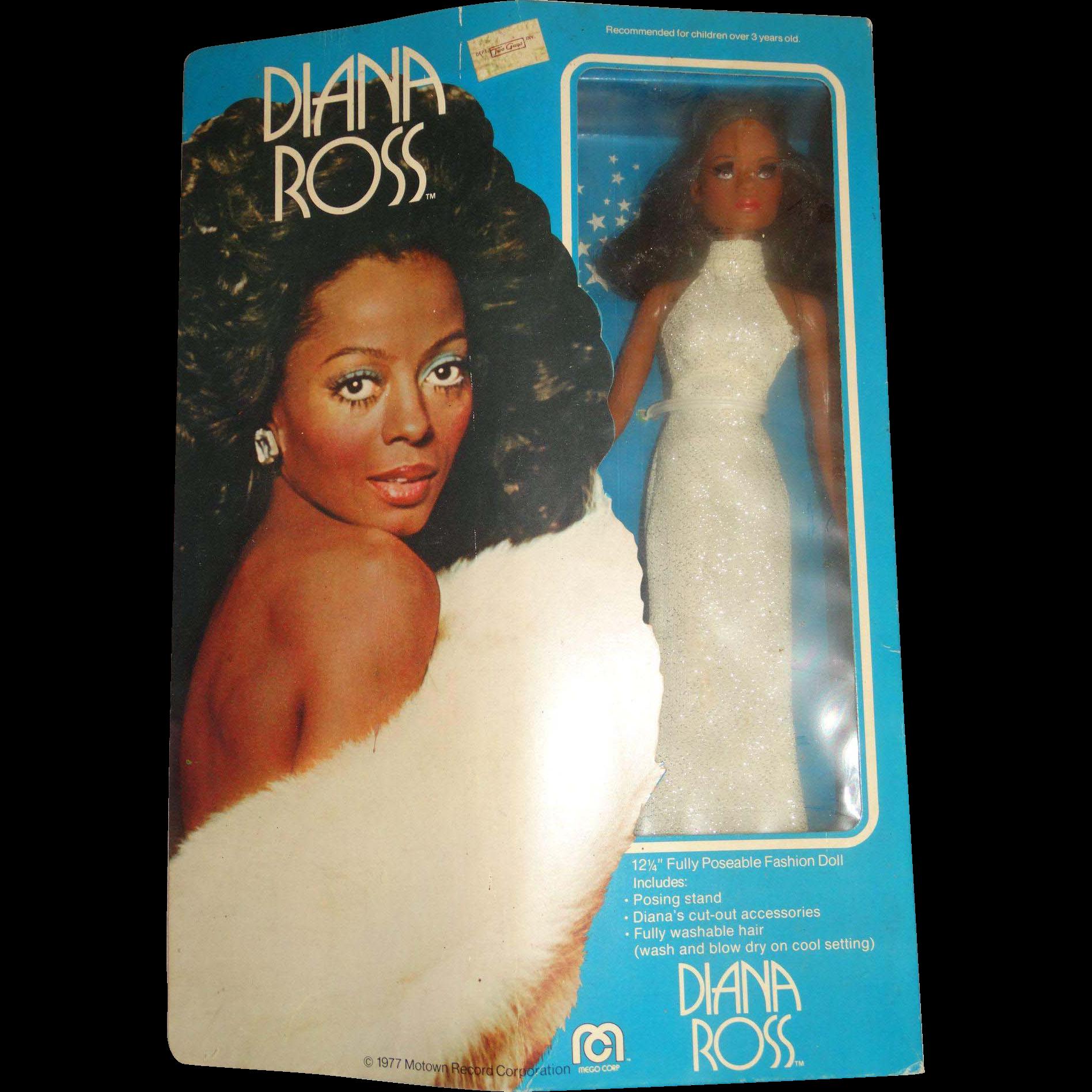Vintage NRFB 1976 Mego Diana Ross Doll