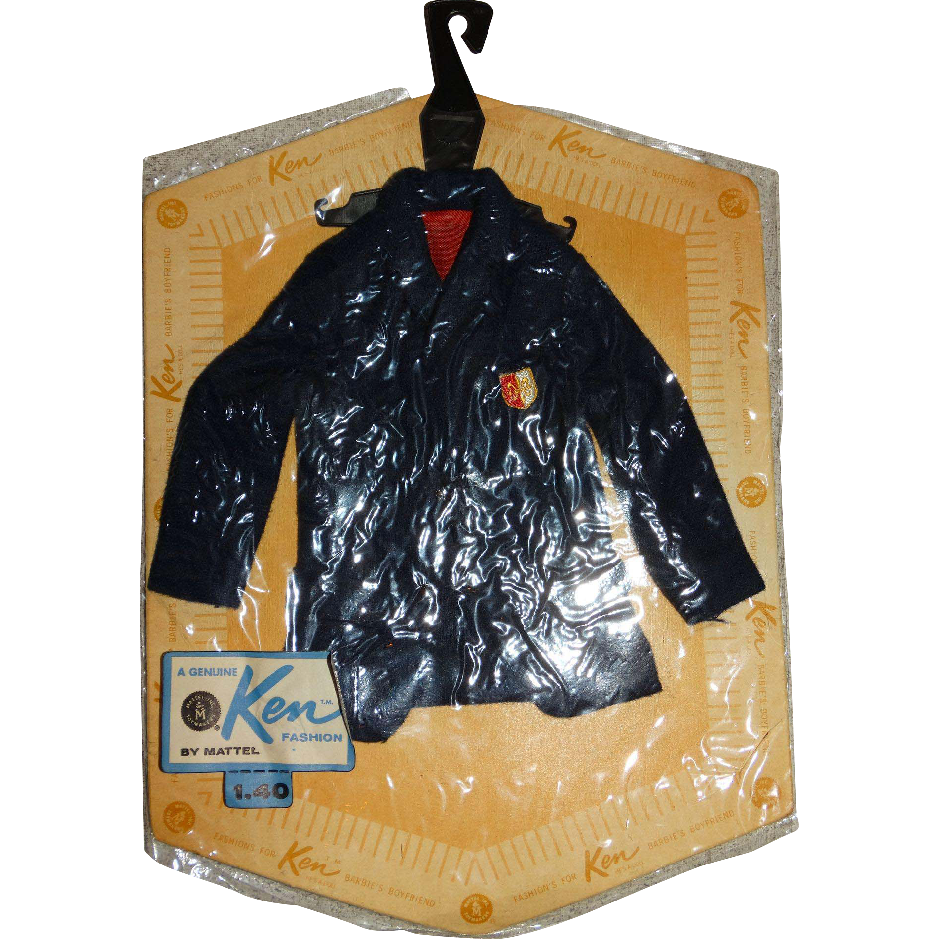 Vintage NRFP Ken PAK Blue Blazer