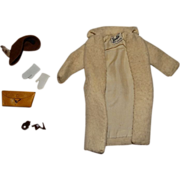 "Vintage Barbie Complete ""TM"" Peachy Fleecy Outfit"