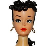 Custom Vintage Brunette #2 Ponytail Barbie Doll